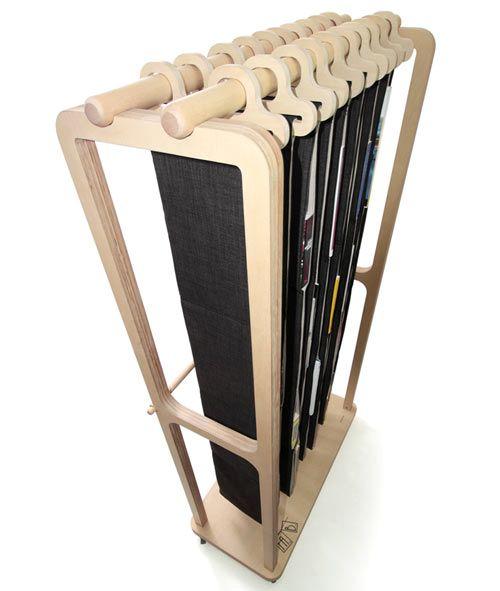 креативный дизайн полок для книг - книжная вешалка