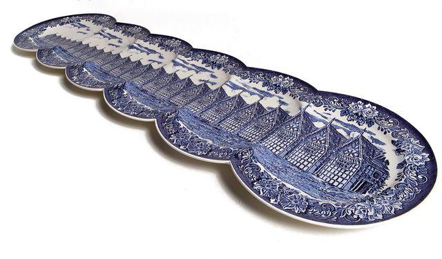 длинные оригинальные декоративные тарелки