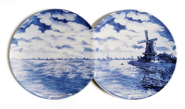 оригинальные декоративные тарелки на стену