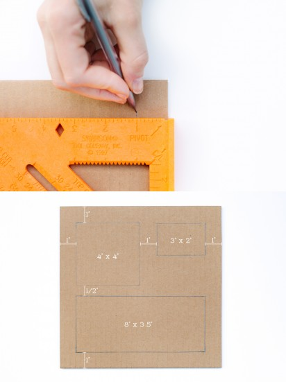 как сделать картонный органайзер своими руками