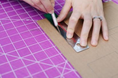 мастер-класс картонный органайзер своими руками