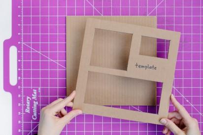 мастер-класс картонная подставка своими руками