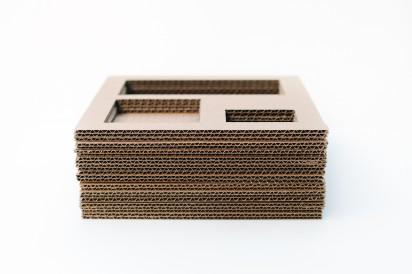 картонный органайзер своими руками