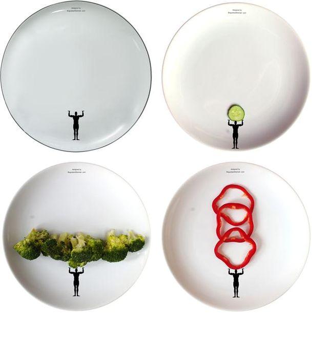 забавные рисунки на тарелках Boguslaw Sliwinski