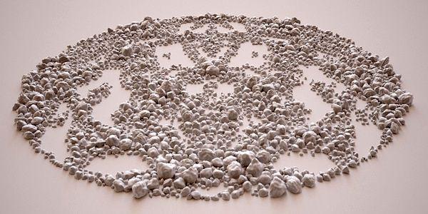 композиции из камней Giuseppe Randazzo
