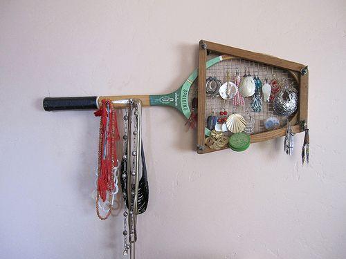 вешалка на стену для сережек и бижутерии
