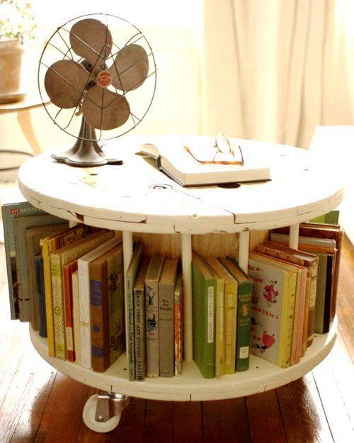 журнальный столик своими руками из катушки от кабеля