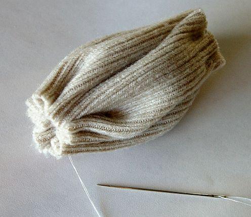 мк подушки из старых свитеров своими руками