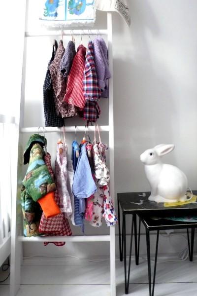 стремянка в интерьере детской комнаты