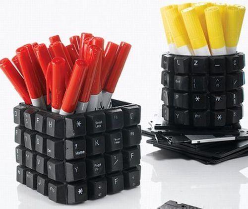 подставки из клавиш старой клавиатуры