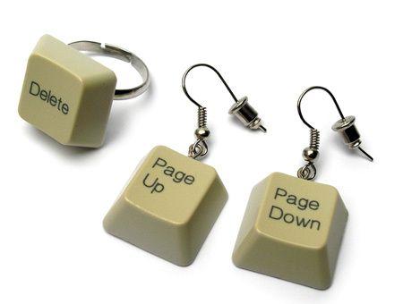 украшения из клавиатуры