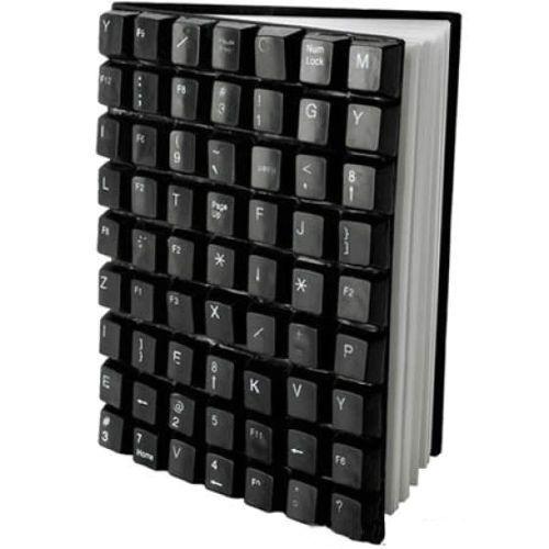 что сделть из старой клавиатуры - обложка блокнота