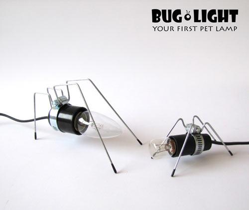 светильник паук и светильник муравей