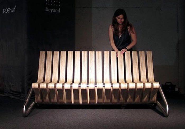 скамейка трансформер coffee bench