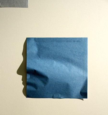 тень профиль лица