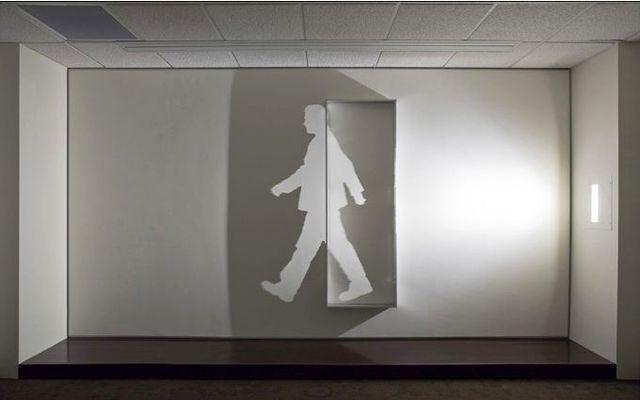 инсталляция света и тени Kumi Yamashita