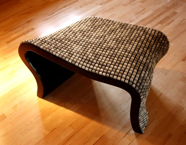 мебель из старой клавиатуры