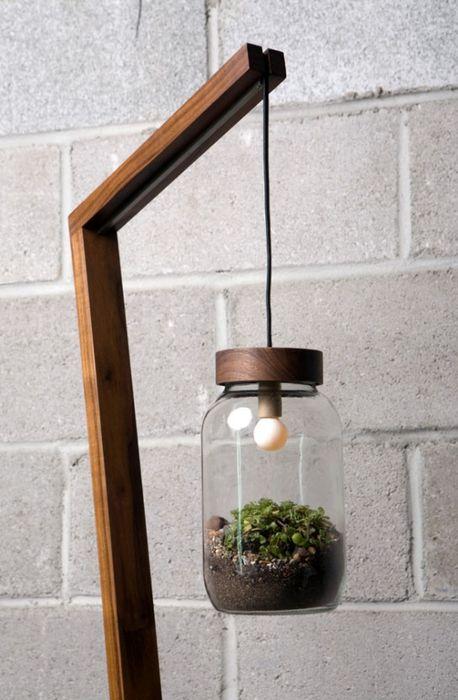 банка светильник теплица для растений
