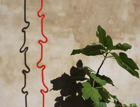 подвесная вешалка веревка Roberope