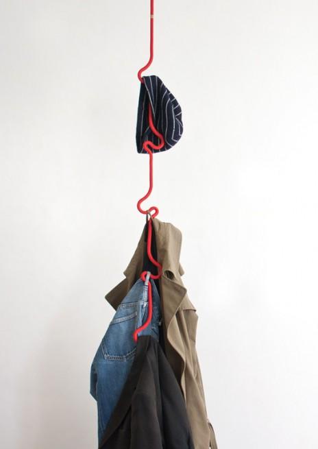 подвесная вешалка веревка