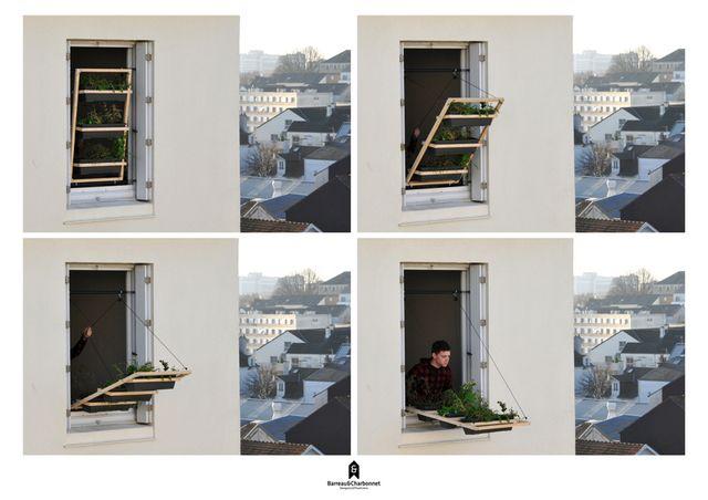 откидывающийся сад на окне своими руками