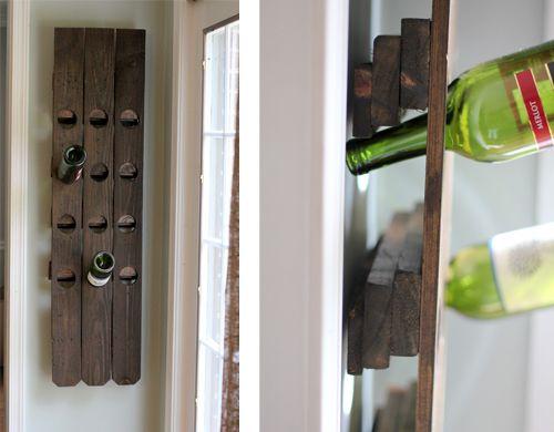 подставки для бутылок вина