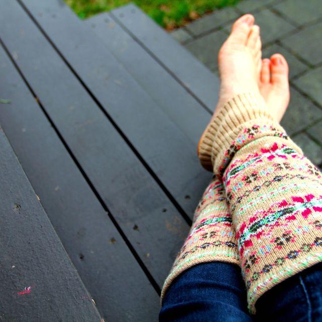 гетры из свитера своими руками
