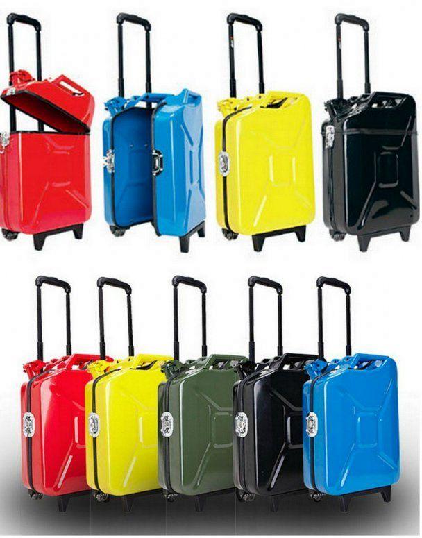 стальной чемодан канистра
