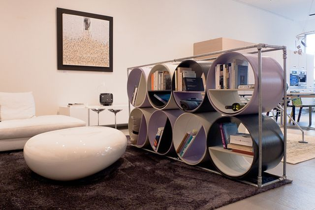 стеллаж - мебель из бумаги