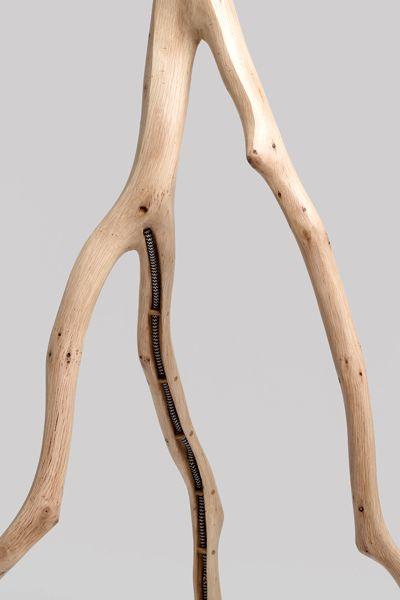 светильники из веток дерева