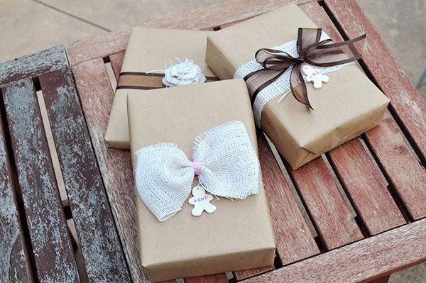 оформление подарков своими руками