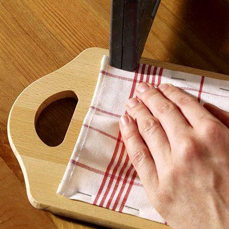 мастер-класс как сделать кармашки для столовых приборов своими руками