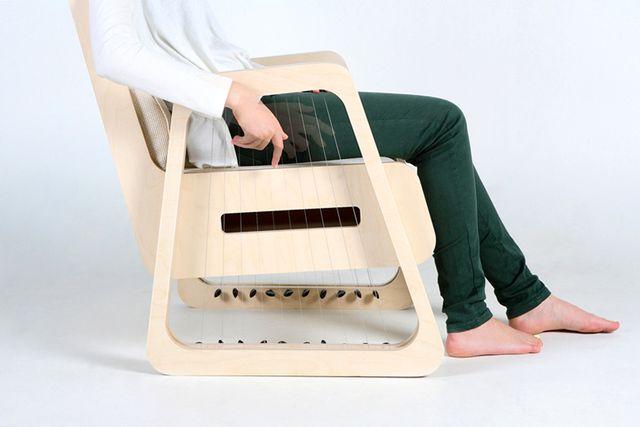 струнное музыкальное кресло echoism