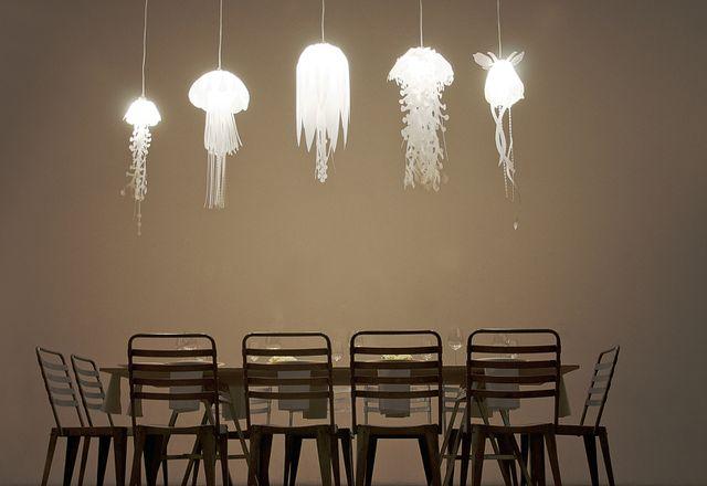 светильник медуза