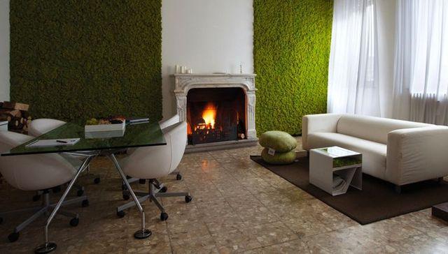 стеновые панели с декоративным мхом Moss Design