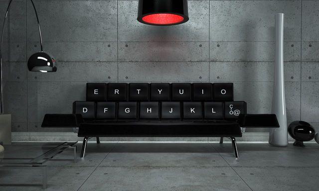 диван клавиатура