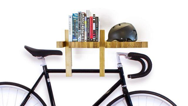 полка держатель для велосипеда fusillo