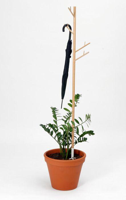 вешалка стойка с поливом растений