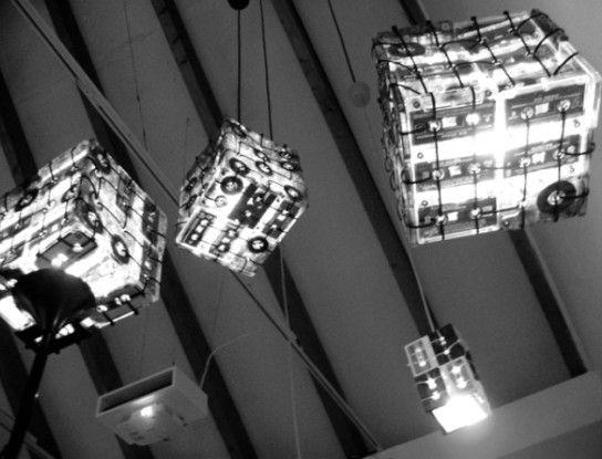 Светильники своими руками из диска