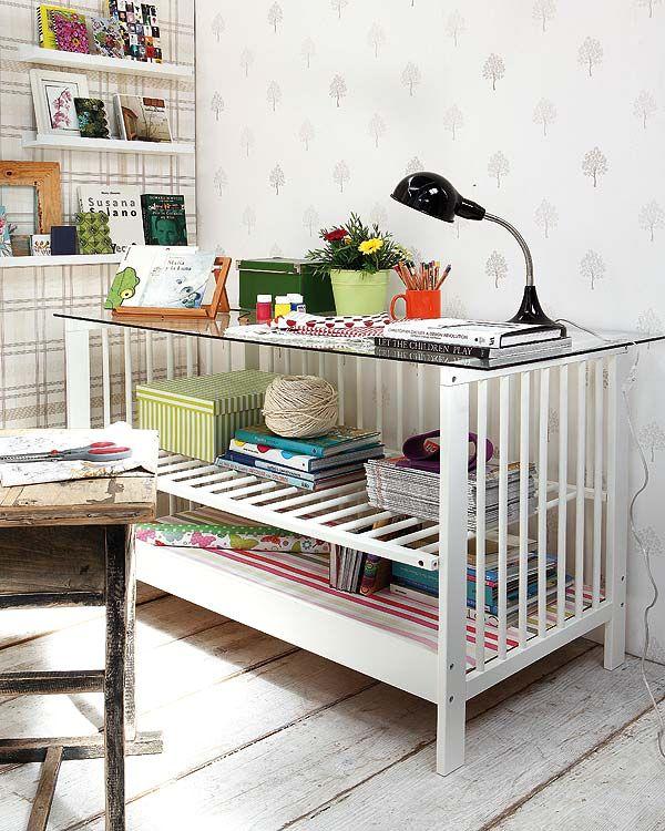 стол из детской кроватки своими руками