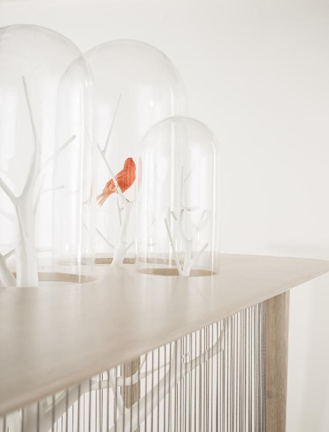 стол декоративная клетка