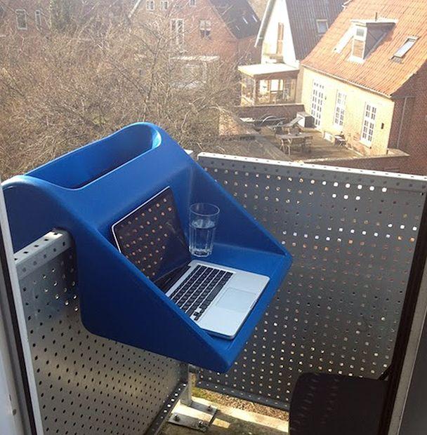 съемный столик на балкон balkonzept