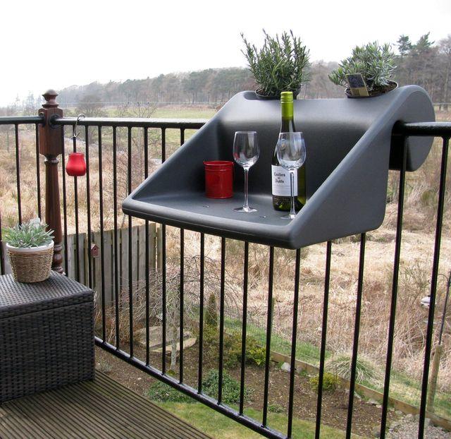 съемный столик на балкона balkonzept