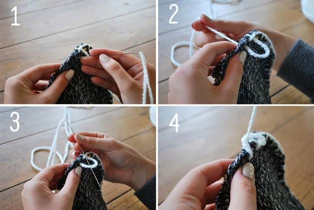 Теплые домашние тапки своими руками из свитера