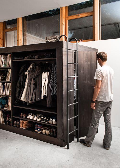 мультифункциональная мебель living cube для небольших пространств