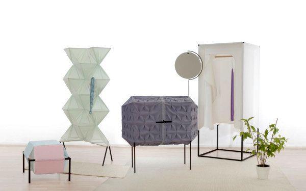 легкая мебель из ткани Meike Harde