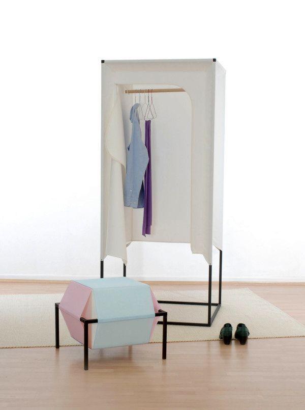 шкаф из ткани Meike Harde