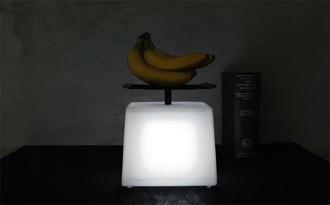 регулятор мощности светильника в виде весов