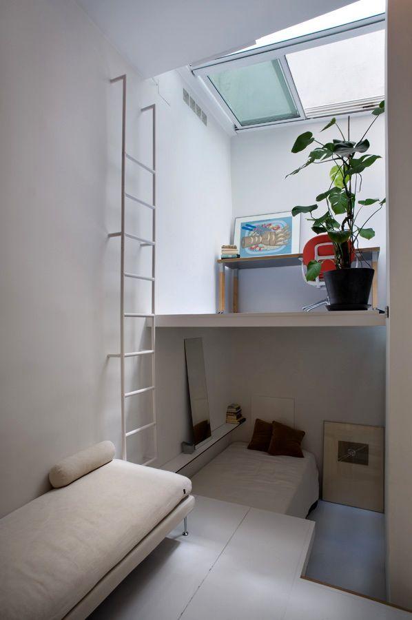 двухуровневая квартира, окно