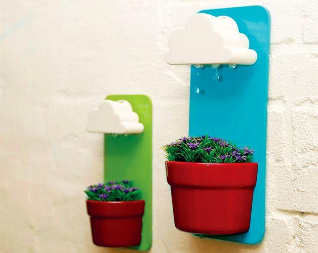 цветочный горшок с поливом rainy pot